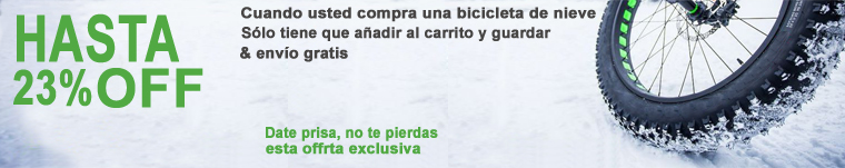 nieve bicicleta