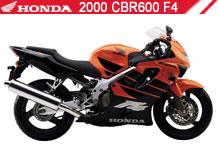 2000 Honda CBR600F4 accesorios
