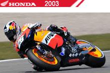 2003 Honda accesorios