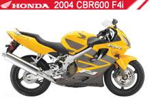 2004 Honda CBR600F4i accesorios