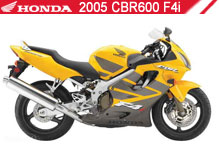2005 Honda CBR600F4i accesorios