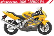 2006 Honda CBR600F4i accesorios