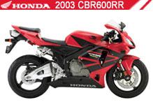 2003 Honda CBR600RR accesorios