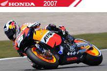 2007 Honda accesorios