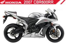 2007 Honda CBR600RR accesorios