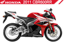 2011 Honda CBR600RR accesorios