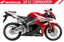 2012 Honda CBR600RR accesorios