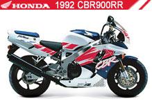 1992 Honda CBR900RR accesorios