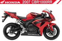 2007 Honda CBR1000RR accesorios