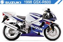 1998 Suzuki GSXR600 accesorios