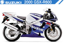 2000 Suzuki GSXR600 accesorios