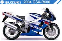 2004 Suzuki GSXR600 accesorios