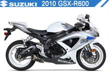 2010 Suzuki GSXR600 accesorios