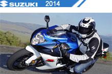 2014 Suzuki accesorios