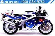 1998 Suzuki GSXR750 accesorios