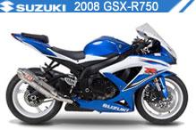2008 Suzuki GSXR750 accesorios