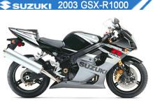 2003 Suzuki GSXR1000 accesorios