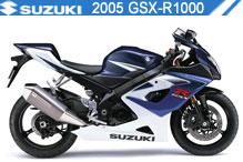 2005 Suzuki GSXR1000 accesorios