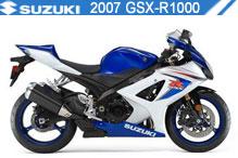 2007 Suzuki GSXR1000 accesorios