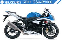 2011 Suzuki GSXR1000 accesorios