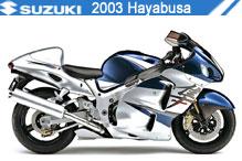 2003 Suzuki Hayabusa accesorios