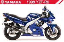 1998 Yamaha YZF-R6 accesorios
