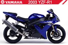 2003 Yamaha YZF-R1 accesorios