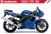 2003 Yamaha YZF-R6 accesorios