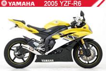 2005 Yamaha YZF-R6 accesorios