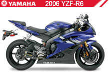 2006 Yamaha YZF-R6 accesorios