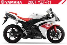 2007 Yamaha YZF-R1 accesorios