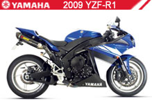 2009 Yamaha YZF-R1 accesorios