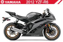 2012 Yamaha YZF-R6 accesorios