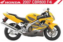 2007 Honda CBR600F4i accesorios