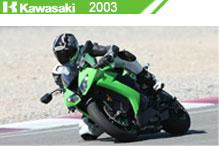 2003 Kawasaki accesorios