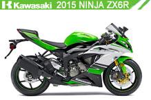 2015 Kawasaki Ninja ZX-6R accesorios