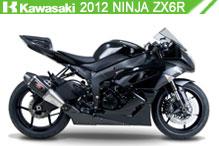 2012 Kawasaki Ninja ZX-6R accesorios