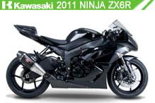 2011 Kawasaki Ninja ZX-6R accesorios