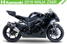 2010 Kawasaki Ninja ZX-6R accesorios