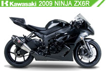 2009 Kawasaki Ninja ZX-6R accesorios