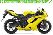 2007 Kawasaki Ninja ZX-6R accesorios