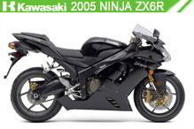 2005 Kawasaki Ninja ZX-6R accesorios