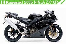 2005 Kawasaki Ninja ZX-10R accesorios