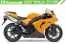 2007 Kawasaki Ninja ZX-10R accesorios