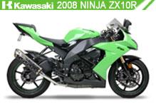 2008 Kawasaki Ninja ZX-10R accesorios
