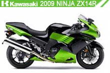 2009 Kawasaki Ninja ZX-14R accesorios