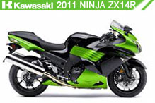 2011 Kawasaki Ninja ZX-14R accesorios