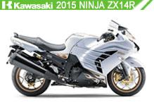 2015 Kawasaki Ninja ZX-14R accesorios