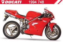 1994 Ducati 748 accesorios