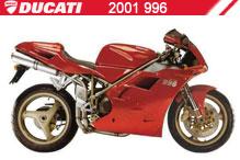 2001 Ducati 996 accesorios
